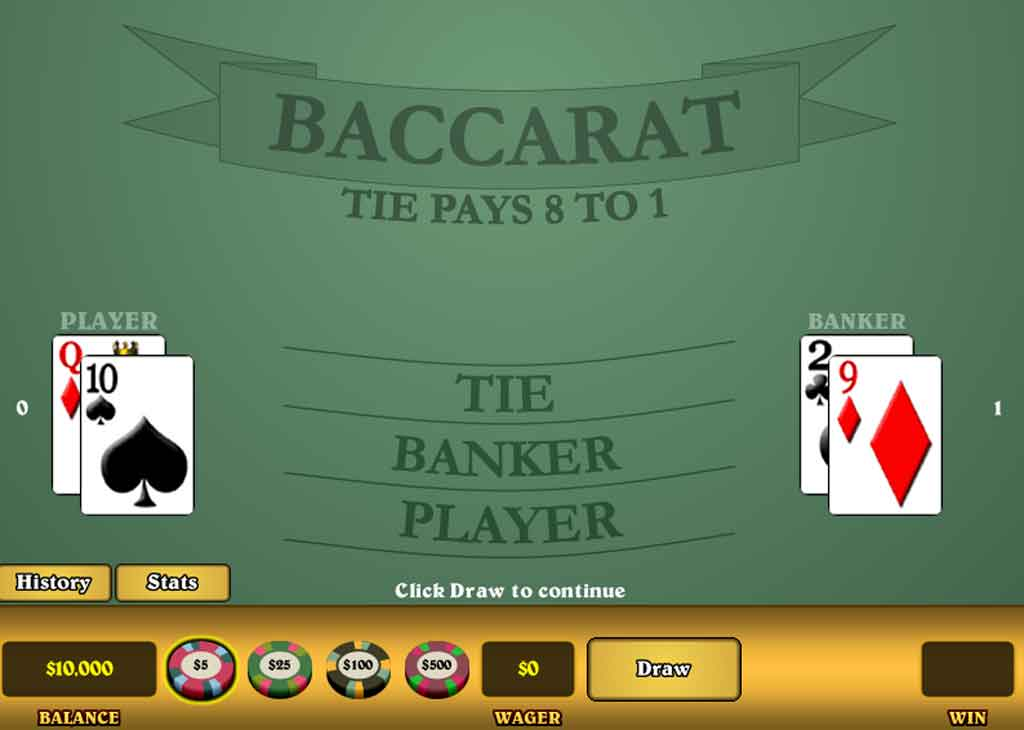 Online Baccarat Betting Strategy 1