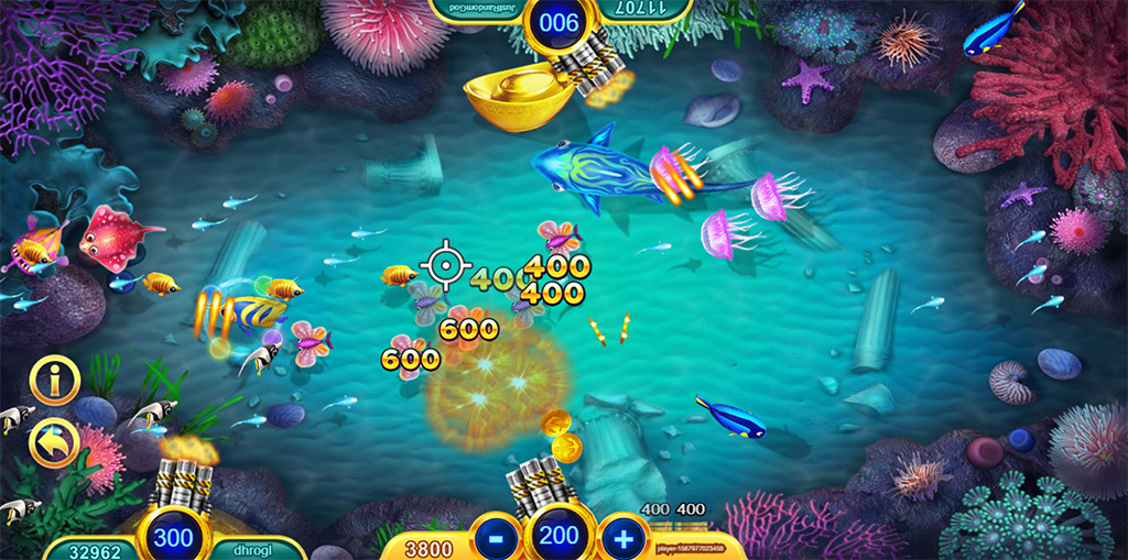 online fish table gambling game online real money usa