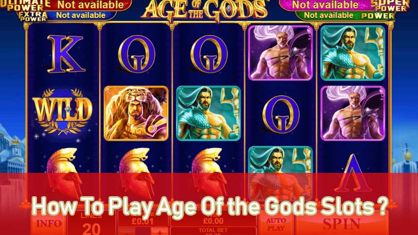How To Play Age Of the Gods: Furious 4 At Ufabetsg