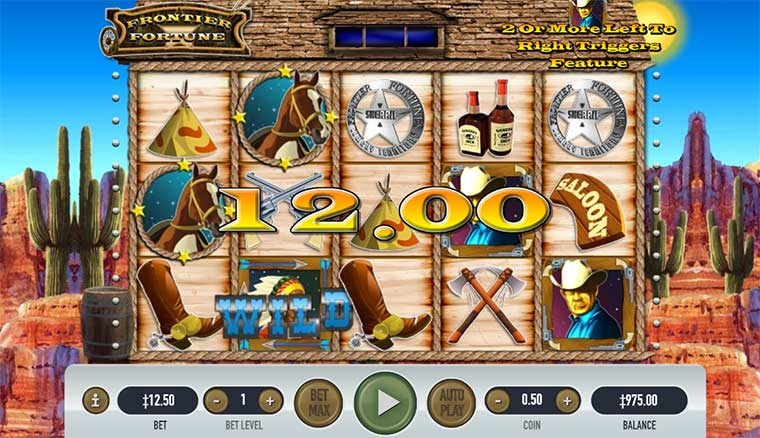 Instructions on how to play Frontier Fortune Slot at Pussy888